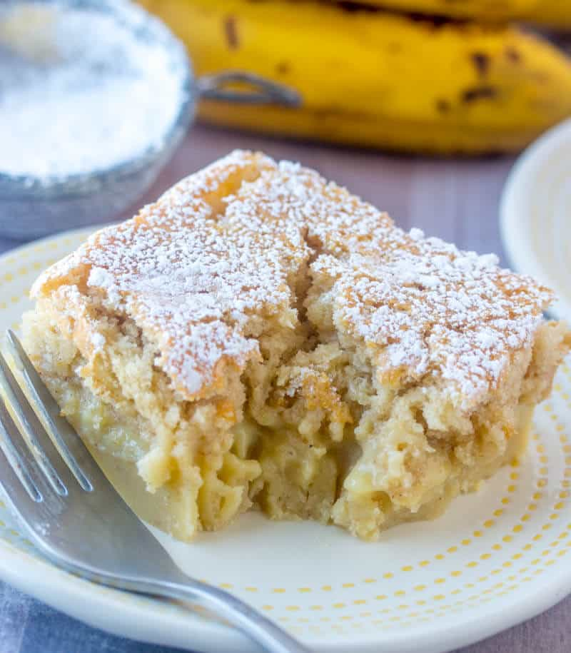 banana magic cake recipe