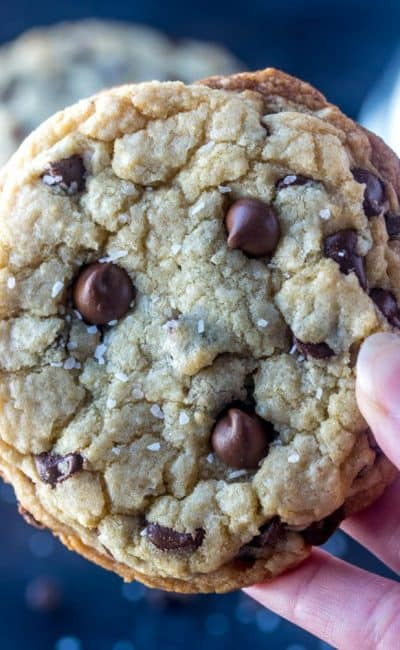 Secret Ingredient Chewy Chocolate Chip Cookies