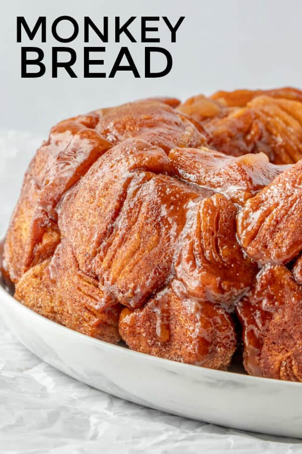Monkey Bread Pinterest Image