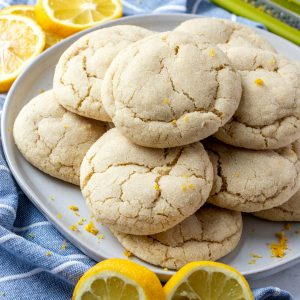 Lemon sugar cookie featured image