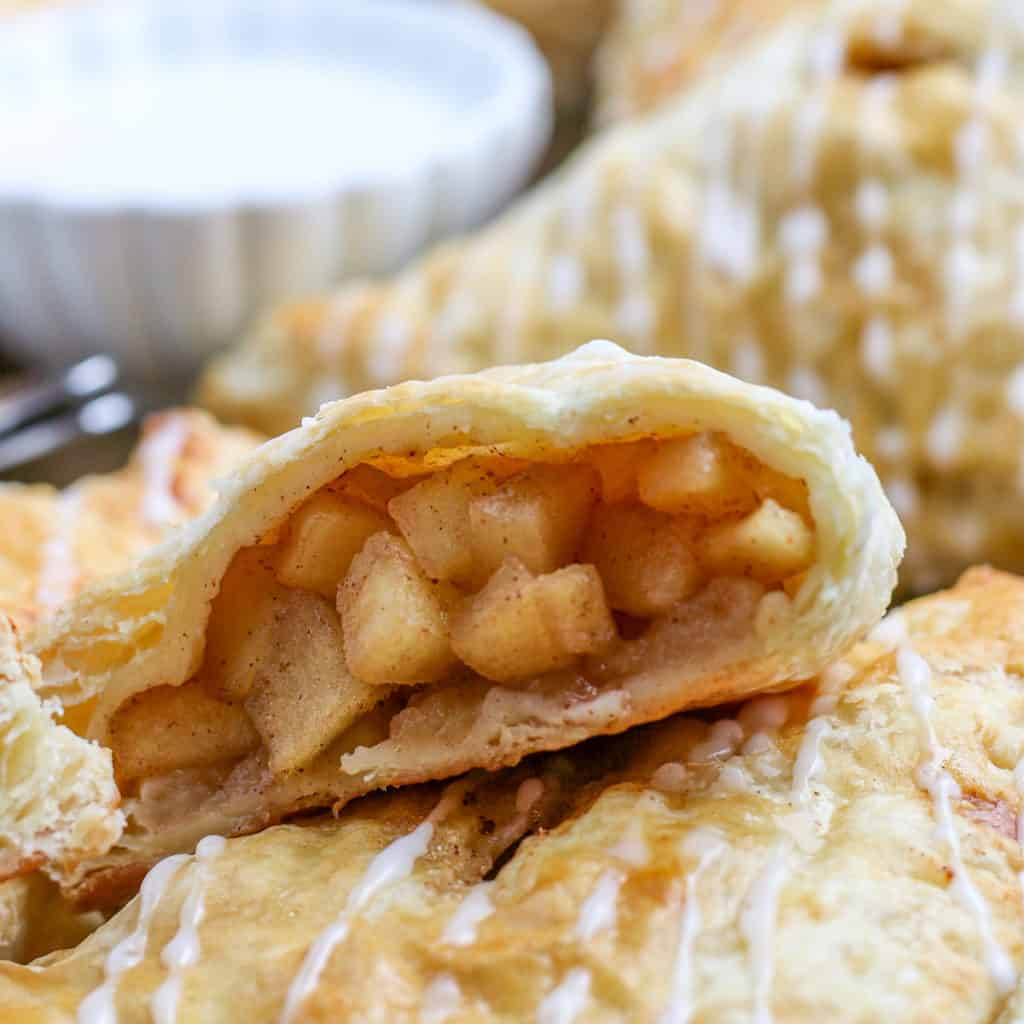 Inside one apple turnover square image