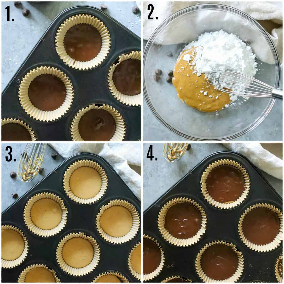 Step by step photos soon how to make Homemade Peanut Butter Cups