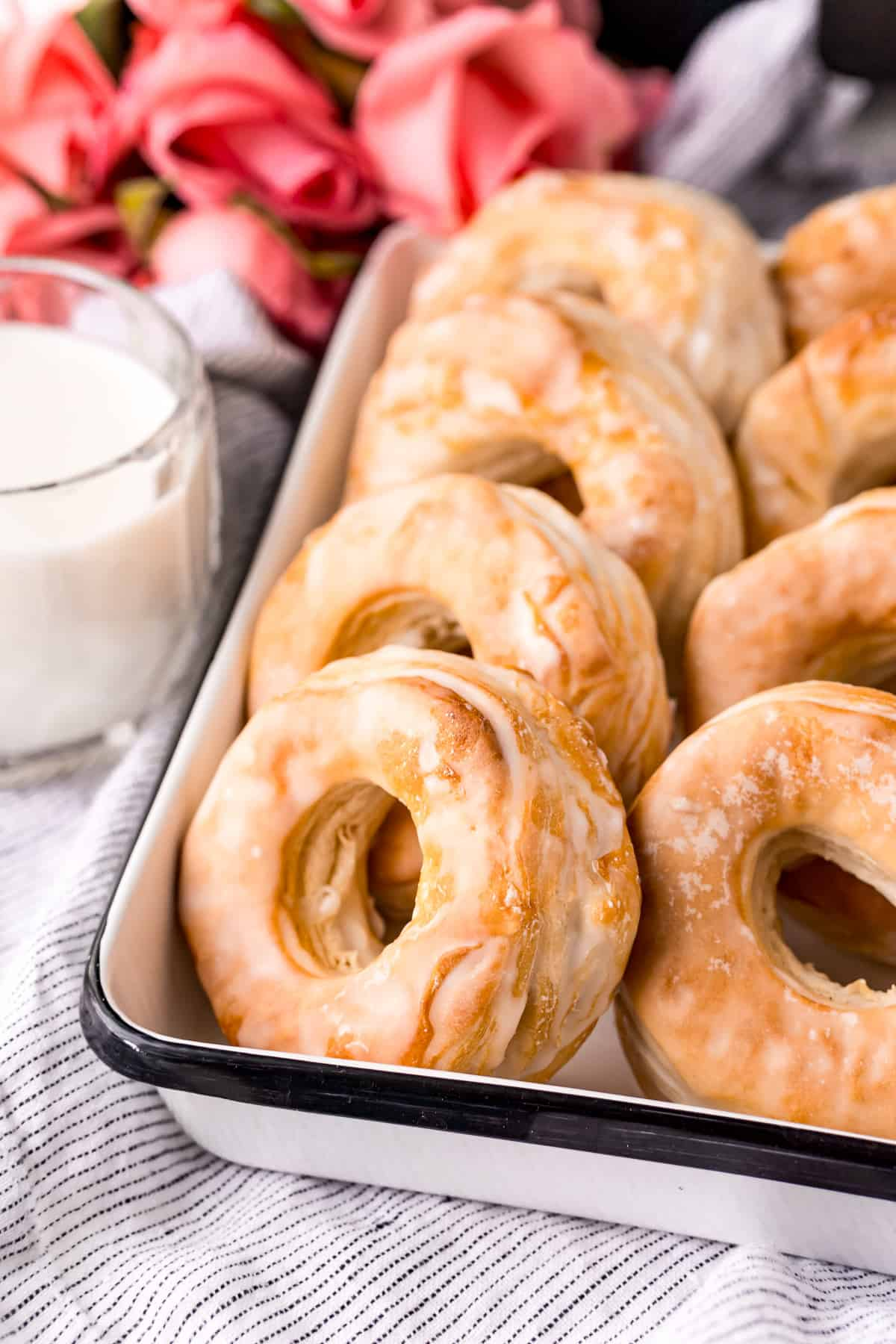 Air Fryer Donuts by Bakerish - WEEKEND POTLUCK 466