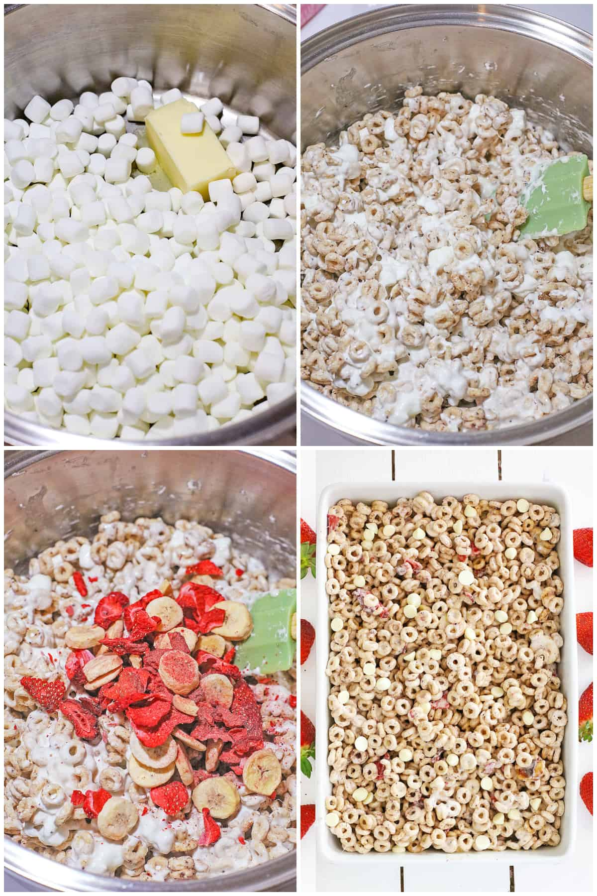 Step by step photos on how to make a Cereal Bar
